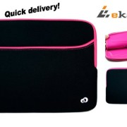 Glove-2-MAGENTA-HOT-PINK-BLACK-Universal-13-inch-Laptop-Bag-Sleeve-for-Lenovo-IdeaPad-Yoga-13-Bonus-Ekatomi-screen-cleaner-0