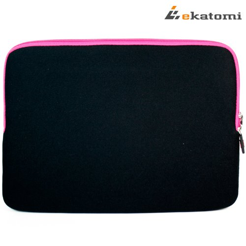 Glove-2-MAGENTA-HOT-PINK-BLACK-Universal-13-inch-Laptop-Bag-Sleeve-for-Lenovo-IdeaPad-Yoga-13-Bonus-Ekatomi-screen-cleaner-0-3