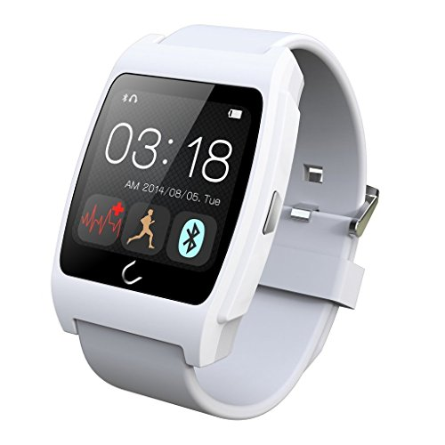 HAMSWAN® Smart Wrist Watch Bluetooth 4 0 Fitness Tracker Health Smartwatch  with Heart Rate Monitor Phone Watches NFC Function for IOS Android Iphone