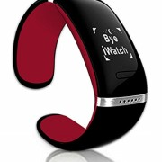 HONTA-Smart-Bluetooth-Waterproof-Bracelet-155hours-Super-Long-Standby-Wrist-Watch-for-IOS-Iphone-Android-Smartphone-Sports-Sleep-Tracking-Health-Fitness-Pedometer-Red-0