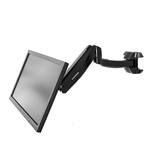 Height Adjustable Articulating Single Arm Monitor Wall