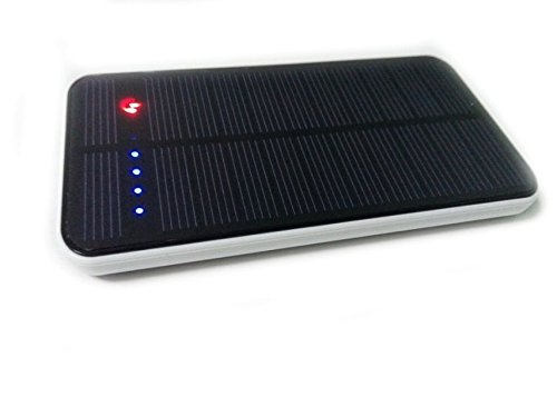 Lufei 12000mah Solar Panel Portable Charger Power Bank Outdoor Camping External Backup Battery