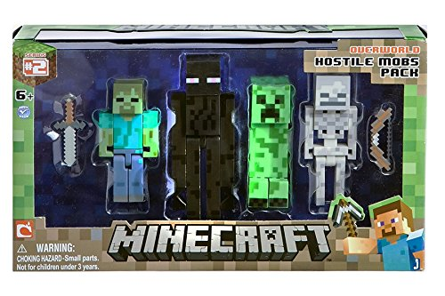 Minecraft-Figure-4-Pack-Hostile-Mobs-0