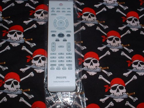 New-Philips-Home-TheaterDVD-Remote-Control-242254900902-Supplied-with-model-HTS6500-HTS650037-0