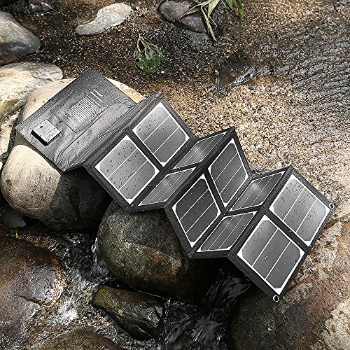 New-Release-Poweradd-High-Efficient-40W-Foldable-Solar-Panel-Portable-Solar-Charger-USB-Port-18V-DC-Output-for-iPhones-iPads-Samsung-Galaxy-Phones-Acer-Asus-Dell-HP-Toshiba-Lenovo-Notebooks-Laptops-an-0-3
