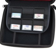 Nintendo-2DS-Accessory-Travel-Pack-Case-with-Car-Charger-and-USB-Charging-Cable-RED-ButterFox-0-2