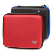 Nintendo-2DS-Accessory-Travel-Pack-Case-with-Car-Charger-and-USB-Charging-Cable-RED-ButterFox-0-3