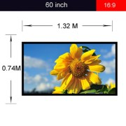 Portable-Outdoor-Movie-Screen-60-Inch-169-Home-Theater-Projector-Screen-PVC-Fabric-Matte-White-0-0