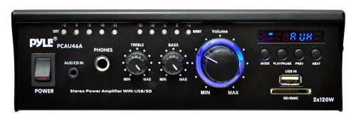 Pyle-Home-PCAU46A-2-x-120-Watts-Mini-Power-Amplifier-with-LED-Display-0-0