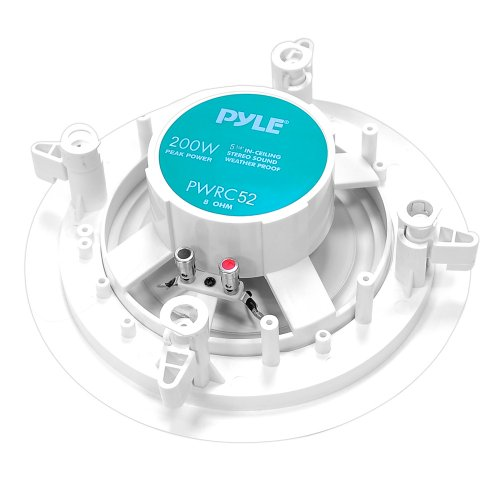Pyle-Home-PWRC52-525-Inch-Weather-Proof-2-Way-In-Ceiling-In-Wall-Stereo-Speaker-Single-Speaker-0-1