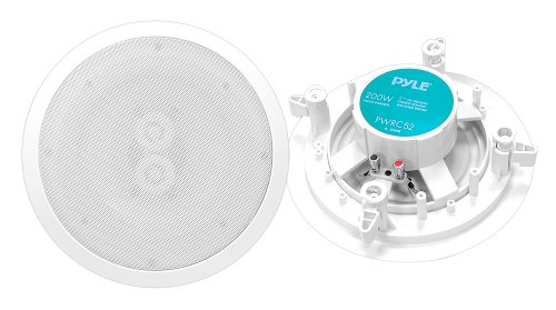 Pyle-Home-PWRC52-525-Inch-Weather-Proof-2-Way-In-Ceiling-In-Wall-Stereo-Speaker-Single-Speaker-0