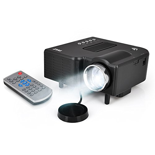 Pyle prjg48 mini compact pocket projector full hd 1080p for Mini portable pocket projector