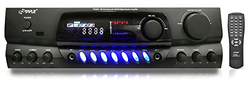 Pyle-PT265BT-Bluetooth-200-Watt-Digital-Receiver-Amplifier-for-Karaoke-Mixing-with-Two-Microphone-Inputs-and-Four-Speaker-Outputs-0
