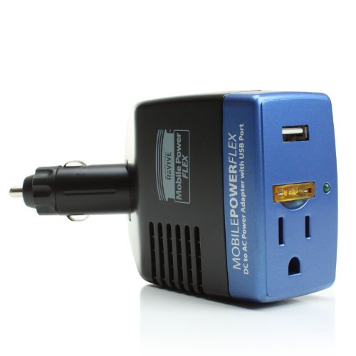 Revive Mobile Flex 150w Car Charger With Usb