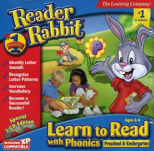 Reader Rabbit Learn to Read With Phonics (Preschool