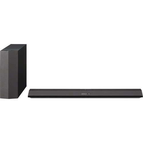 Sony-21-Channel-300-Watt-Sound-Bar-Sound-System-with-Wireless-Active-Subwoofer-Home-Theater-System-w-Bluetooth-Streaming-2-way-Speaker-Design-S-force-Technology-Black-Finish-0-0