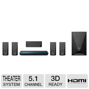 Sony-51-Channel-1000-Watts-3D-Blu-ray-DVD-Surround-Sound-Home-Theater-System-with-Full-HD-1080p-Built-in-Wi-Fi-2D-to-3D-Conversion-Bluetooth-Wireless-Streaming-Dolby-TrueHD-and-DTS-HD-Sound-Modes-Fron-0