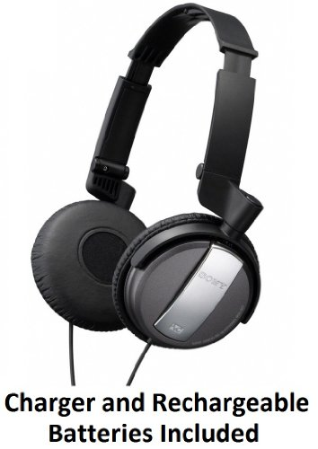 Sony-Professional-Lightweight-Noise-Canceling-Studio-Monitor-Headphones-with-30mm-Swivel-Earcups-Over-The-Head-Open-Air-Dynamic-Closed-Dome-Design-Black-Eliminates-872-of-Surrounding-Ambient-Noise-Tra-0