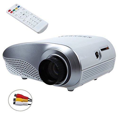 Stoga tfun tm 006 hd lcd mini portable video projector for Pocket projector hdmi input
