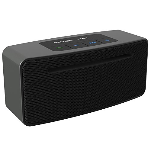 Trendwoo-Portable-Wireless-Bluetooth-Speaker-Enhanced-Bass-Resonator-Powerful-Sound-High-Def-Sound-for-Handsfree-Speakerphone-iPhone-iPad-Samsung-Android-smartphones-mp3-players-and-tablets-Black-0