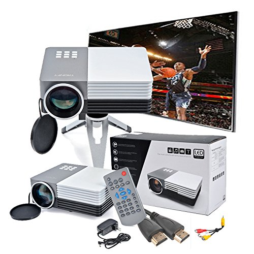 Mini Portable Lcd Multimedia Led Projector Full Hd 1080p: Tronfy TP-50 Mini Multimedia Portable LCD LED Video Game