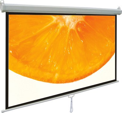 VIVO-100-Projector-Screen-100-inch-Diagonal-169-Projection-HD-Manual-Pull-Down-Home-Theater-VIVO-PS-M-100-0