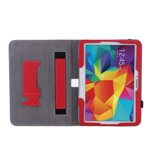 WAWO-Samsung-Galaxy-Tab-4-101-Inch-Tablet-Smart-Cover-Creative-Folio-Case-Red-0-1