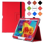 WAWO-Samsung-Galaxy-Tab-4-101-Inch-Tablet-Smart-Cover-Creative-Folio-Case-Red-0