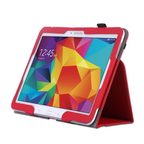 WAWO-Samsung-Galaxy-Tab-4-101-Inch-Tablet-Smart-Cover-Creative-Folio-Case-Red-0-2