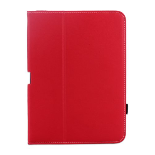 WAWO-Samsung-Galaxy-Tab-4-101-Inch-Tablet-Smart-Cover-Creative-Folio-Case-Red-0-6