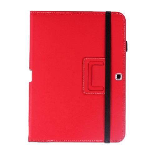 WAWO-Samsung-Galaxy-Tab-4-101-Inch-Tablet-Smart-Cover-Creative-Folio-Case-Red-0-7