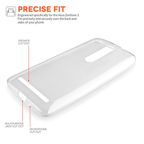 Yousave-Accessories-Asus-Zenfone-2-55-Inch-Version-Case-Super-Slim-Clear-Silicone-Gel-Cover-With-Stylus-Pen-0-1