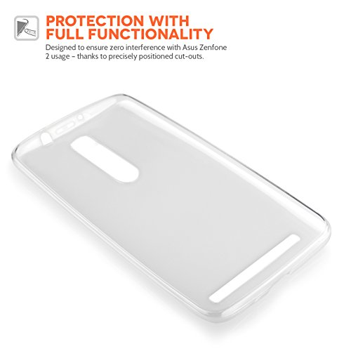 Yousave-Accessories-Asus-Zenfone-2-55-Inch-Version-Case-Super-Slim-Clear-Silicone-Gel-Cover-With-Stylus-Pen-0-2