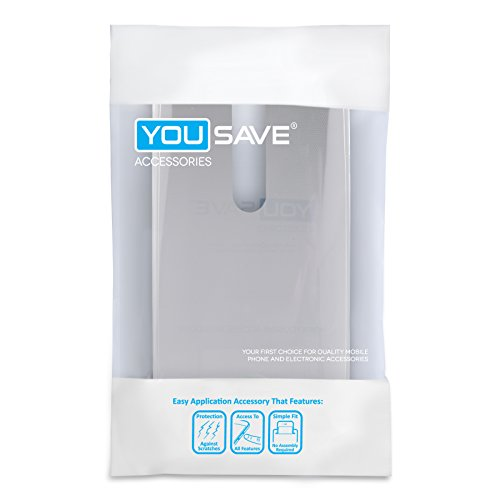 Yousave-Accessories-Asus-Zenfone-2-55-Inch-Version-Case-Super-Slim-Clear-Silicone-Gel-Cover-With-Stylus-Pen-0-3