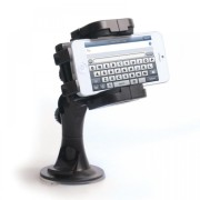 Yousave-Accessories-Sony-Xperia-P-Plastic-Car-Holder-With-Stylus-Pen-Black-0-0