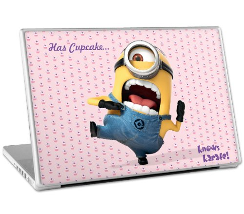 Zing-Revolution-MS-DMT70011-Despicable-Me-2-Cupcake-Laptop-Cover-Skin-for-15-Inch-Mac-and-PC-0