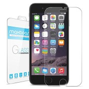 iPhone-6-Screen-Protector-Maxboost-iPhone-6-Glass-Screen-Protector-47-Tempered-Glass-Worlds-Thinnest-Ballistics-Glass-99-Touch-screen-Accurate-Round-Edge-02mm-Ultra-clear-Glass-Screen-Protector-Perfec-0
