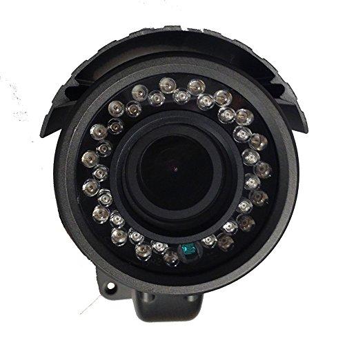 101AV-800TVL-Bullet-Camera-13-SONY-Super-HAD-II-CCD-DC12V-AC24V-28-12mm-Varifocal-Lens-100ft-IR-Range-36pcs-Infrared-LEDs-OSD-Control-WDR-Wide-Dynamic-Range-Dual-Voltage-Weatherproof-Vandal-proof-Meta-0-3