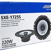 2-Pairs-Alpine-SXE-1725S-65-440-Watt-4-Ohm-2-Way-Coaxial-Car-Audio-Speakers-Featuring-A-Ferrite-Magnet-80-Watt-RMS-And-Mylar-Titanium-Balanced-Dome-Tweeter-0-4