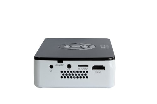 Aaxa p300 pico micro led projector with 60 minute battery for Micro mini projector