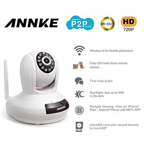 ANNKE SP1 HD 1280x720P, Cloud Network IP Camera, H 264