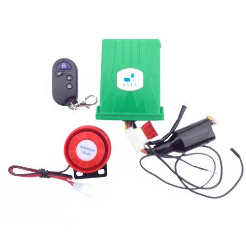 Anti Theft Security Alarm System Remote Control Engine Start 12v