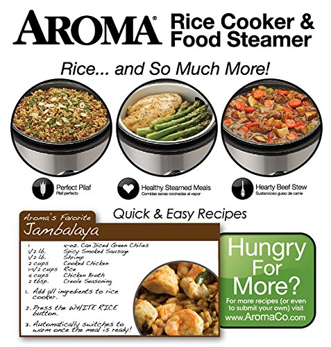 Aroma Rice Cooker Food Steamer Recipes