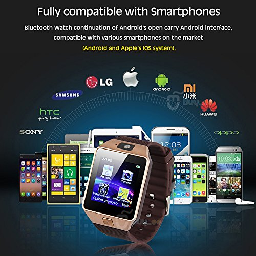 Buyee-Dz09-Smartwatch-Heartrate-Test-Bluetooth-Smart-Watch-Wristwatch-Smartwatch-with-Pedometer-Anti-lost-Camera-for-Iphone-Samsung-Huawei-Android-Phones-Golden-0-2