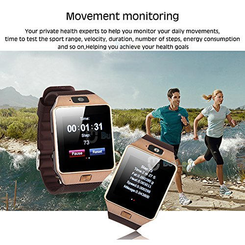 Buyee-Dz09-Smartwatch-Heartrate-Test-Bluetooth-Smart-Watch-Wristwatch-Smartwatch-with-Pedometer-Anti-lost-Camera-for-Iphone-Samsung-Huawei-Android-Phones-Golden-0-5