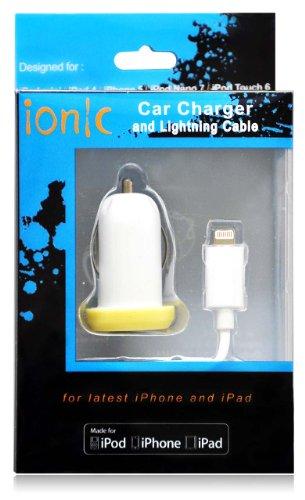 CODTM-USB-Auto-Car-with-Lightning-Cable-for-Apple-iPhone-5-Apple-iPhone-5S-Apple-iPhone-5C-Smartphone-Apple-iPad-Mini-Apple-iPad-Mini-2-Apple-iPad-5-Apple-iPad-Air-ATT-T-Mobile-Sprint-VerizonMFI-Certi-0