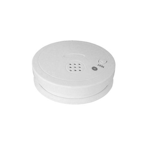 ceiling mount smoke fire alarm detector tester sensor siren led beep with buzzer erics electronics. Black Bedroom Furniture Sets. Home Design Ideas