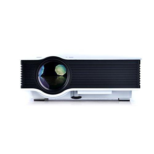Mini Portable Lcd Multimedia Led Projector Full Hd 1080p: CiBest® HD 1080P Portable Mini Home LED Projector LCD
