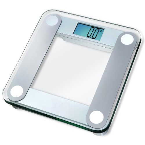EatSmart-Precision-Digital-Bathroom-Scale-w-Extra-Large-Lighted-Display-400-lb-Capacity-and-Step-On-Technology-2014-VERSION-10000-Reviews-EatSmart-Guaranteed-Accurate-0-0