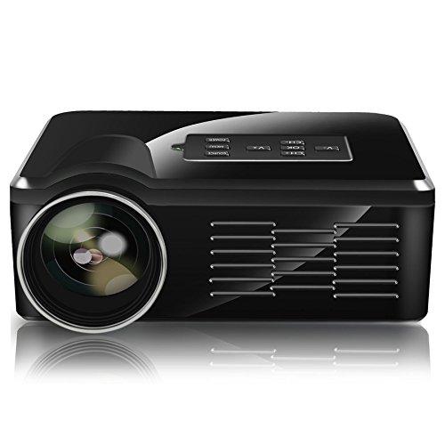 Eforce 800 Lumens Mini Micro Projector Home Cinema With
